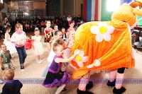 открытое занятие, посвященное празднованию  Нового года 2011-28 декабря